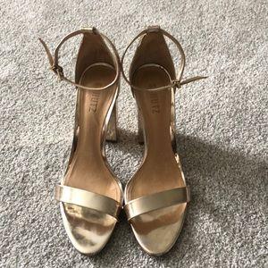 Schutz Gold Heels